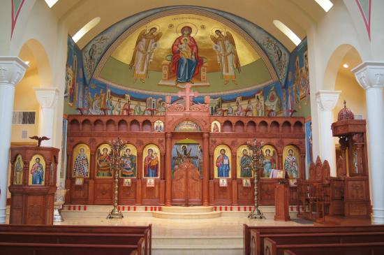 Interior St. Demetrios Williamsburg